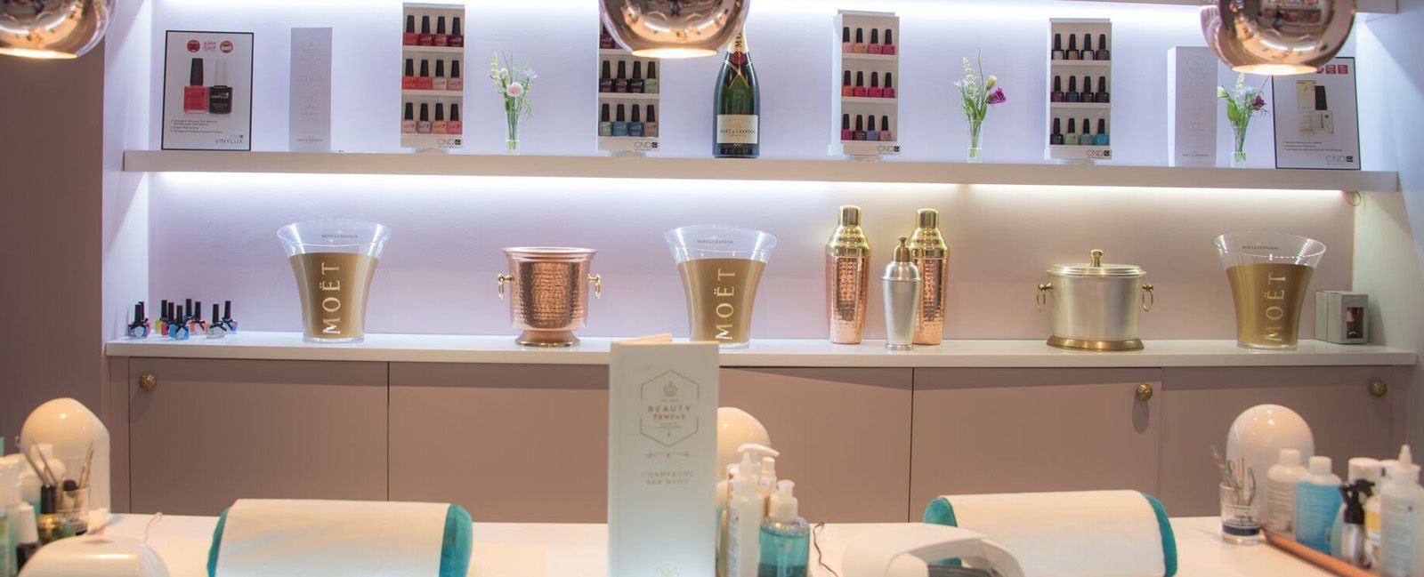 Champagne Nail Bar Treatments
