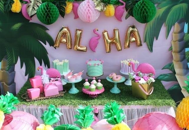 Owl House 8th Birthday Tiki Pop Up Party Beauty Temple Salon